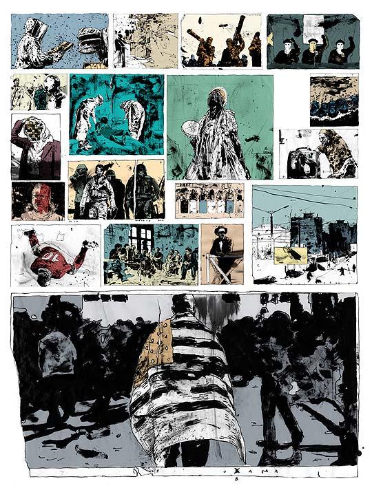 Dibujos extraordinarios de SIMON PRADES.