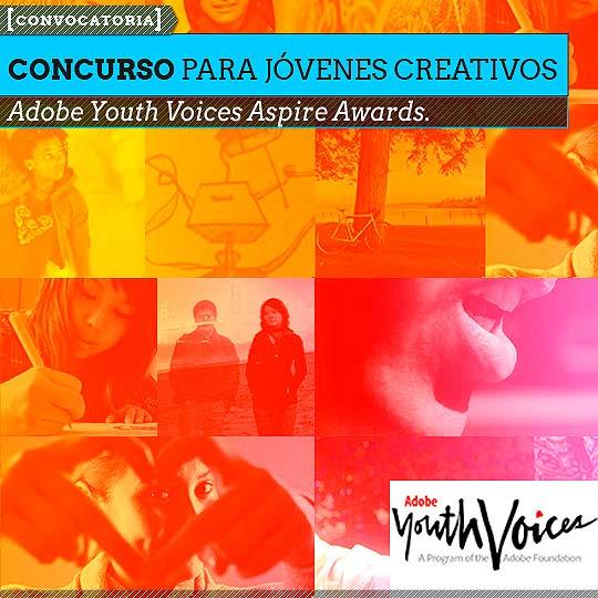 Convocatoria de Adobe para jóvenes creativos.