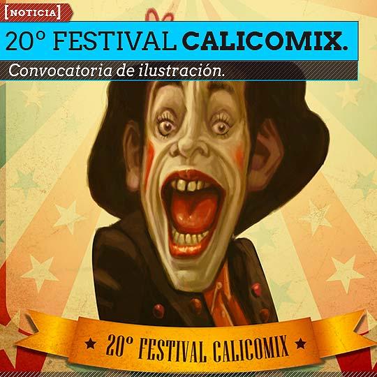 Convocatoria 20º Festival CALICOMIX.