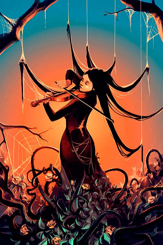 Arte digital de CYRIL ROLANDO.