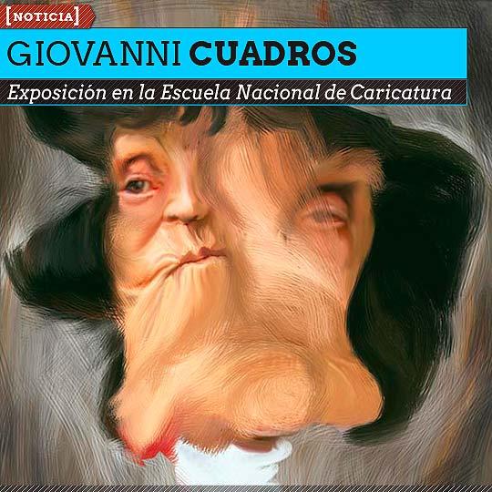 Exposición de Giovanni Cuadros en Bogotá.