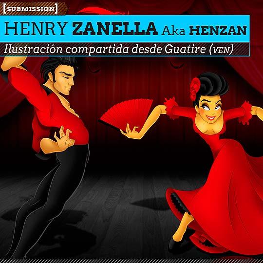 Ilustración de HENRY ZANELLA Aka HENZAN.
