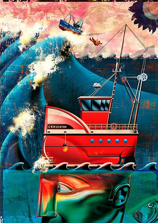 Ilustración de KEVIN HAUFF.