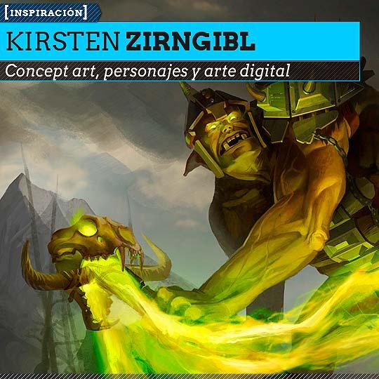 Concept art de KIRSTEN ZIRNGIBL.