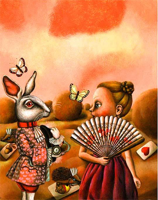 Ilustración infantil de LUCIE MÜLLEROVÁ
