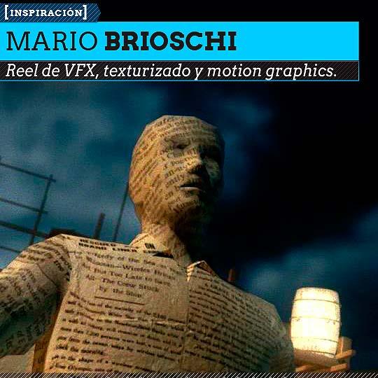 VFX Reel de MARIO BRIOSCHI.