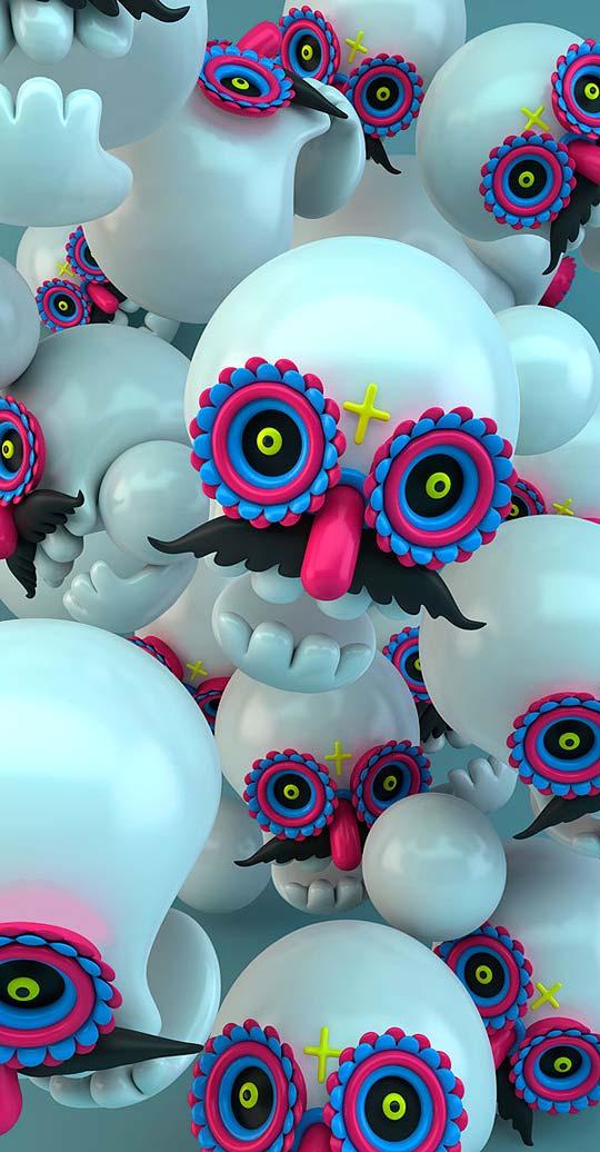 Modelado 3D de El Grand Chamaco - México