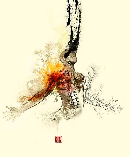 Ilustración de MIGUEL CASTRO Aka MIKI.