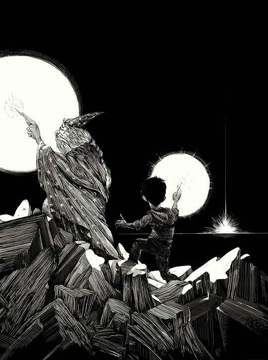 Ilustración de NICO DELORT.