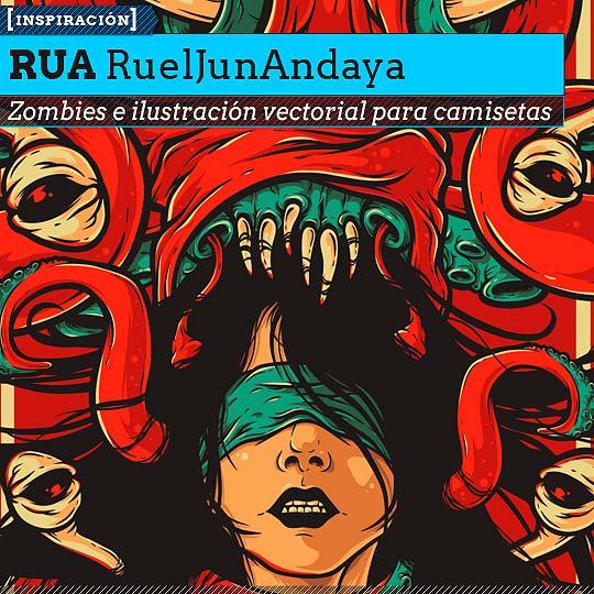 Ilustración vectorial de RUA RuelJunAndaya.