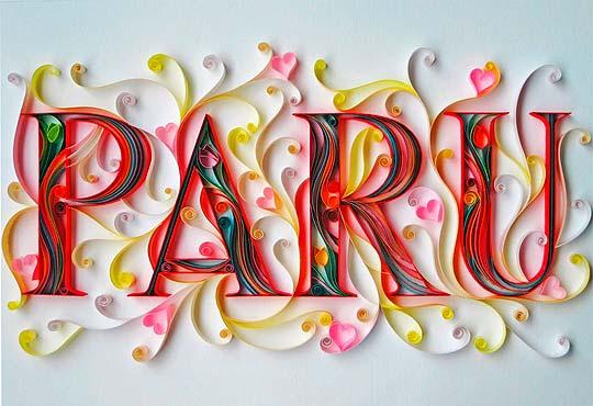 Paper art de SABEENA KARNIK.