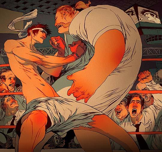 Ilustración de SACHIN TENG.