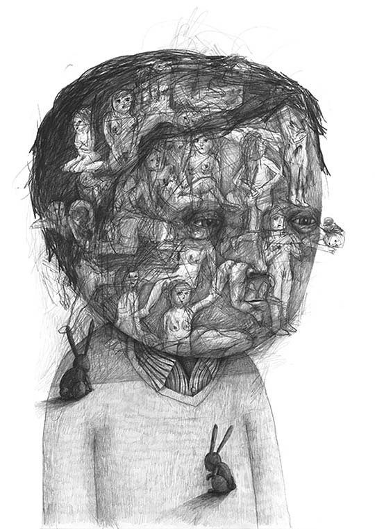Ilustración de STEFAN ZSAITSITS