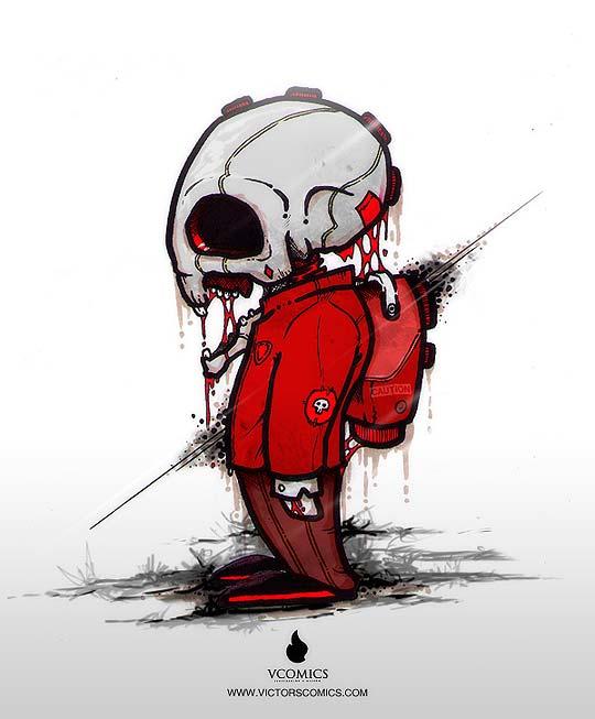 Ilustración de VÍCTOR VERGARA Aka Victors Comics