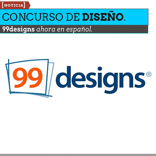 Concurso de diseño.99designs ahora en español.