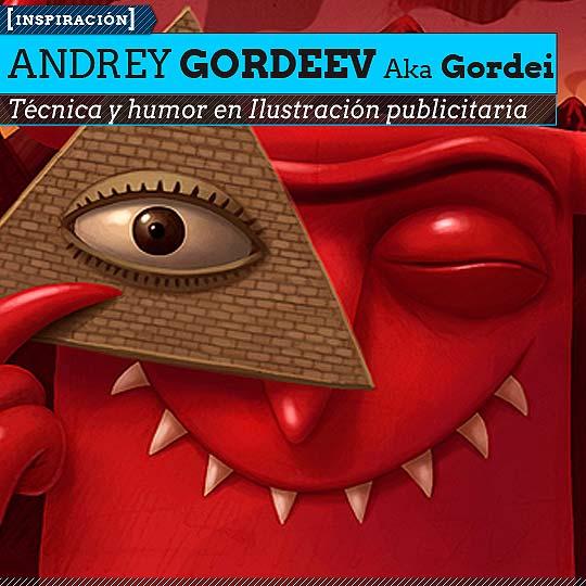 Ilustración de ANDREY GORDEEV Aka Gordei