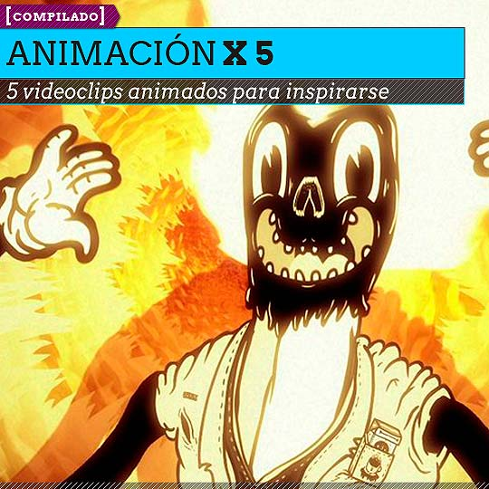 5 videoclips de animación