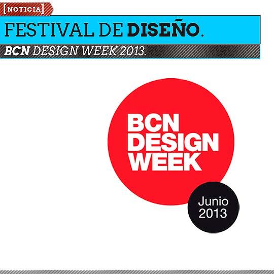 Festival de Diseño. BCN DESIGN WEEK 2013.