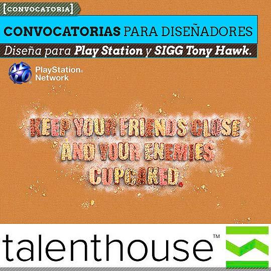 Convocatorias para diseñadores desde Talenthouse.
