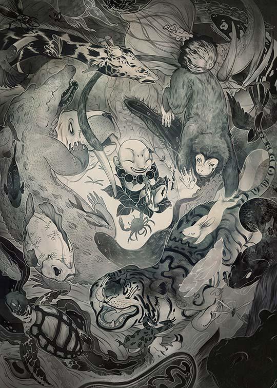 Ilustración de CORINNE REID