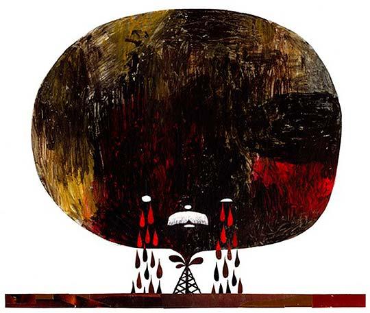 Ilustración de GORDON WIEBE