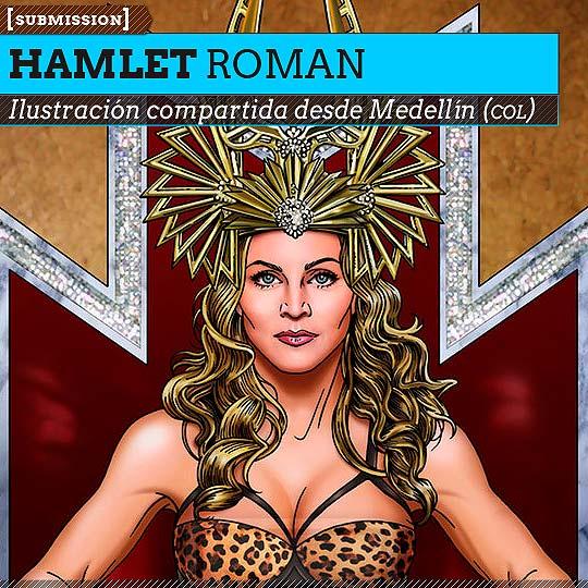 Ilustración de HAMLET ROMAN