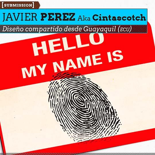 Diseño gráfico de JAVIER PEREZ