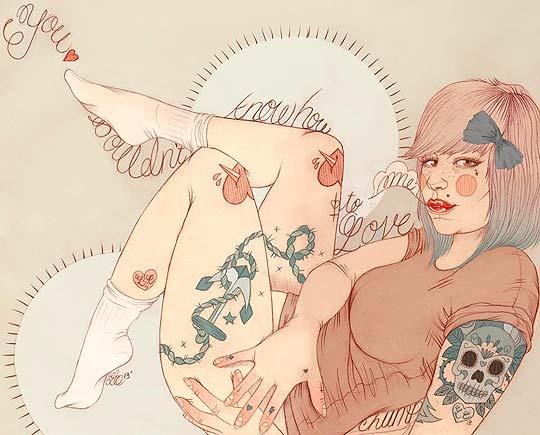 Ilustración de LIZ CLEMENTS