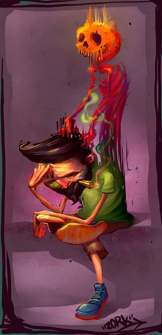 Ilustración de NESTOR DAVID MARINERO CERVANO