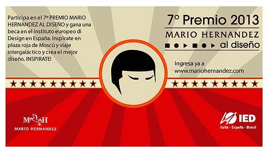Diseño. 7º Premio MARIO HERNÁNDEZ al diseño.