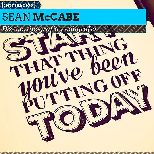 Caligrafía de SEAN McCABE