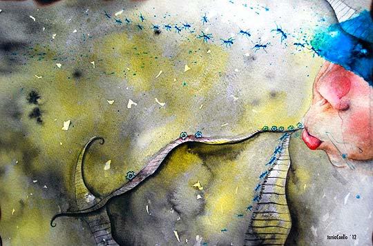 Ilustración de TANIACOELLO