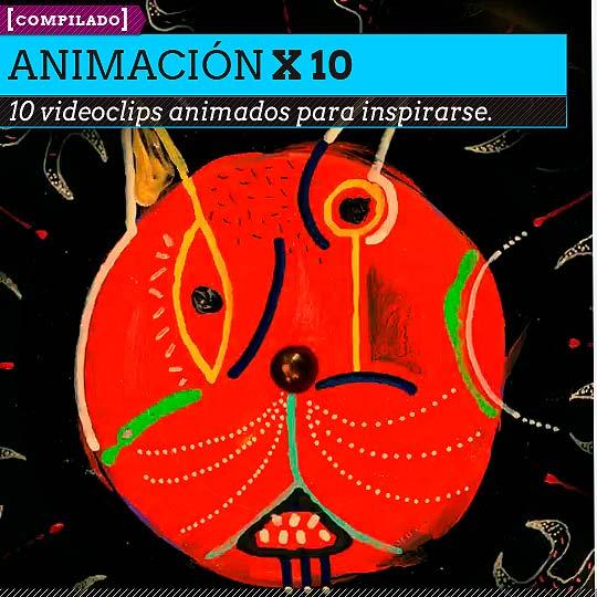 10 videoclips de animación