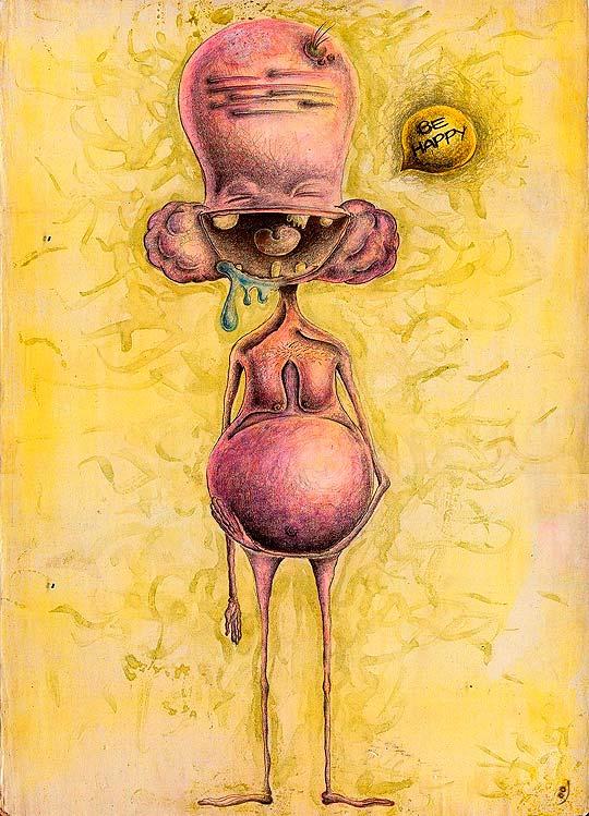 Ilustración de ALEJANDRA MORALES Aka BeHappy.