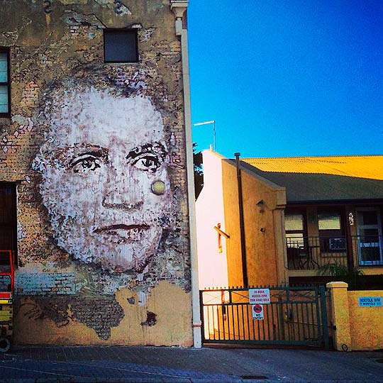 Arte urbano de ALEXANDRE FARTO