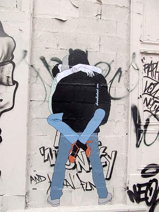 Arte urbano de CLAIRE STREETART