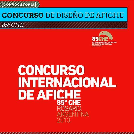 Concurso de diseño de afiche. 85º CHE.