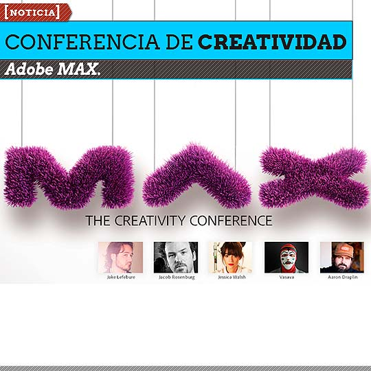 Conferencia de Creatividad. Adobe MAX.