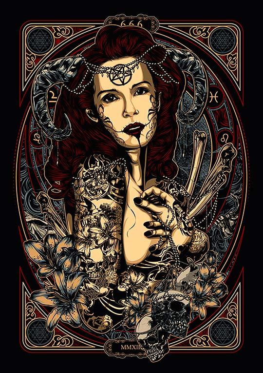 Ilustración de DENI DESSASTRA