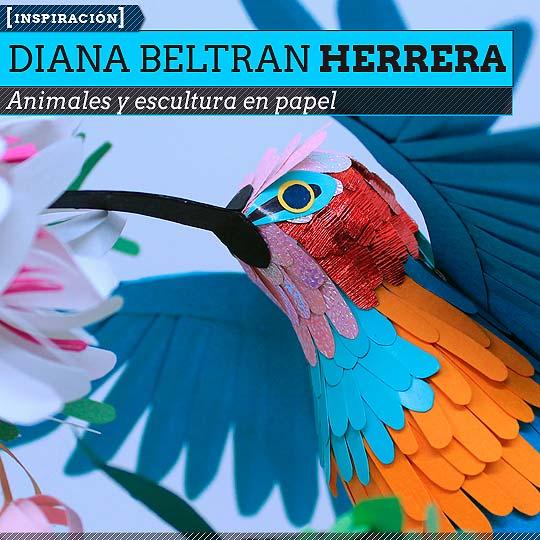 Escultura en papel de DIANA BELTRAN HERRERA