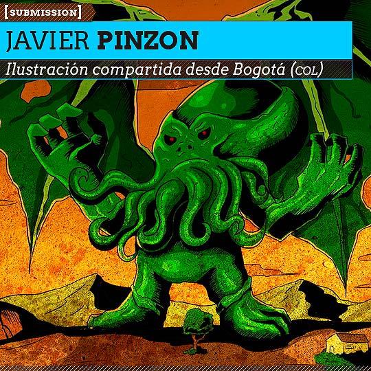 Ilustración de JAVIER PINZON Aka DARKJAVIER