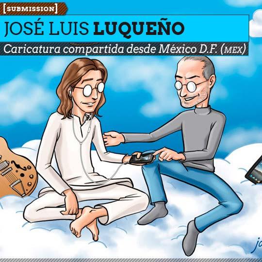 Caricatura de JOSÉ LUIS LUQUEÑO Aka Imix