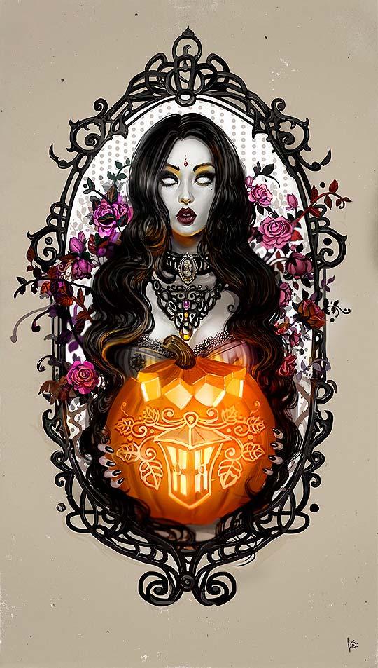 Ilustración y arte digital de LERA NYUKALOVA.