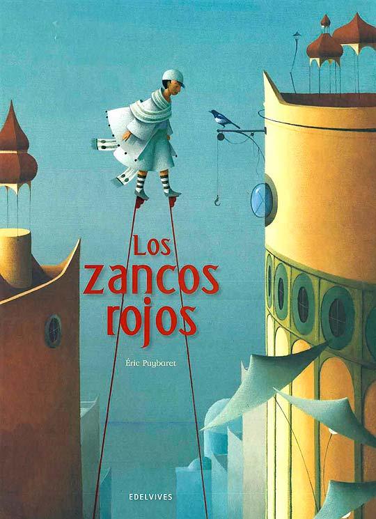 Los zancos rojos, ilustraciones de ERIC PUYBARET