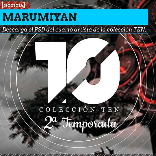 MARUMIYAN cuarto artista digital de la colección TEN.