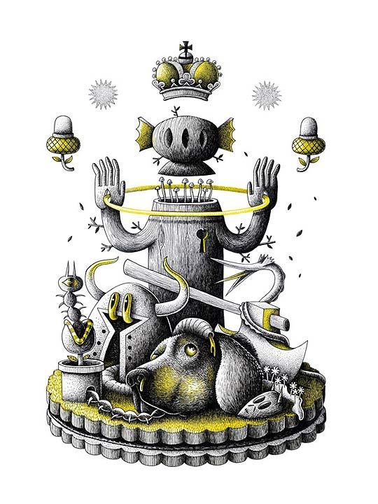 Ilustración de NICOLAS BARROME.
