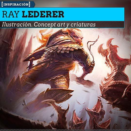 Concept art de RAY LEDERER