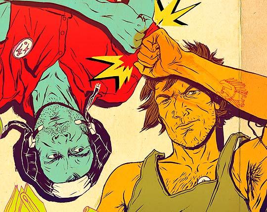 Ilustración de ROXIE VIZCARRA
