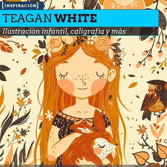 Ilustración infantil de TEAGAN WHITE