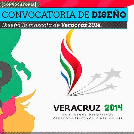 Convocatoria. Diseña  la mascota de Veracruz 2014.